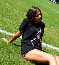 Женская Футболка в стиле Supreme x Air Jordan   ТОП Качество