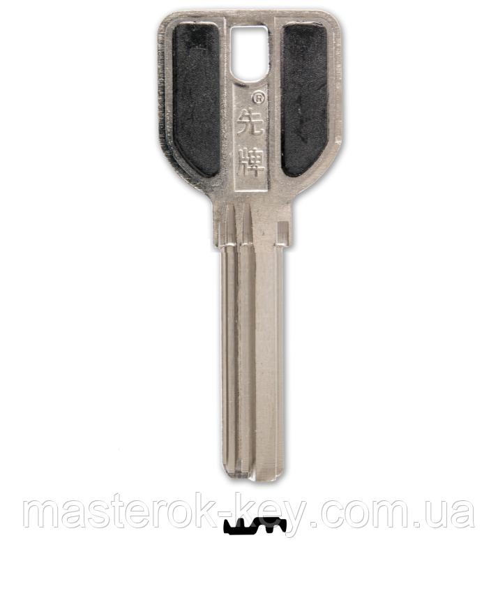 Заготовка ключа МСМ с фаской 38мм.
