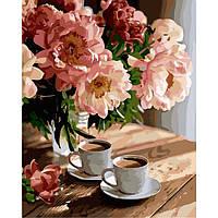 Картины по номерам - Романтическое настроение (КНО3080) расскраска по номерам