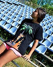 Женская Футболка в стиле Palm Angels | ТОП Качество