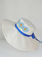 Шляпа с широкими полями для вышивки