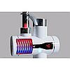 Проточный мгновенный водонагреватель c LCD дисплеем Delimano Электро нагреватель Делимано В подарок Water save, фото 3
