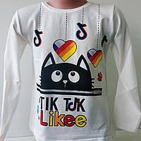 """Реглан """"Tiktok"""" для девочки 1-4 года, фото 1"""