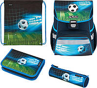 Ранец Herlitz Loop Plus Soccer Футбол мяч ортопедический школьный рюкзак c наполнением 50025756