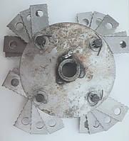 Барабан, ротор с молотками (бичи) для крупорушки ДТЗ, Млын Ок.