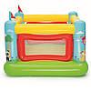 Надувной игровой центр Bestway 175х173х135 см, с шариками 10 шт, подстилкой, насосом, фото 3