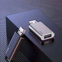 Флеш-накопичувач Baseus на 16 ГБ з USB-портом для заряджання, сірого кольору (ACUP-A0A)