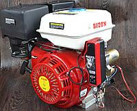 Двигатель бензиновый Bizon GX-390 188FE 13 л.с. с электростартером 782, КОД: 1555112