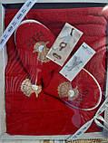 Набор Для Сауны и Бани Подарочный Женский В Коробке Хлопковый На Липучке Турция Gulcan, фото 6