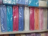 Простынь На Резинке Махровая 160*200 см С Двумя Наволочками SHELLA Турция Евро Размер, фото 4