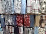 Постельное Белье из Фланели Байка Двуспальное Евро 200*220 см Серое Турция Cotton Сollection, фото 4