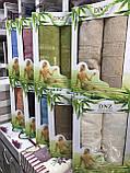 Набор Полотенец Для Лица и Бани в Коробке На Подарок Бамбук Махровые Турция Gulcan, фото 2