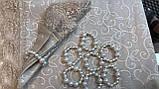 Скатерть с Салфетками Тканевая Однотонная Полиэстер 160х220см в Подарочной Коробке Турция, фото 3
