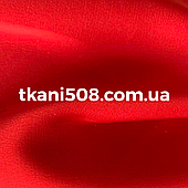 Шелк  Армани Красный