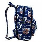 Рюкзак с рисунком Мишка 47250 Размер 30x25x12 Синий, фото 2