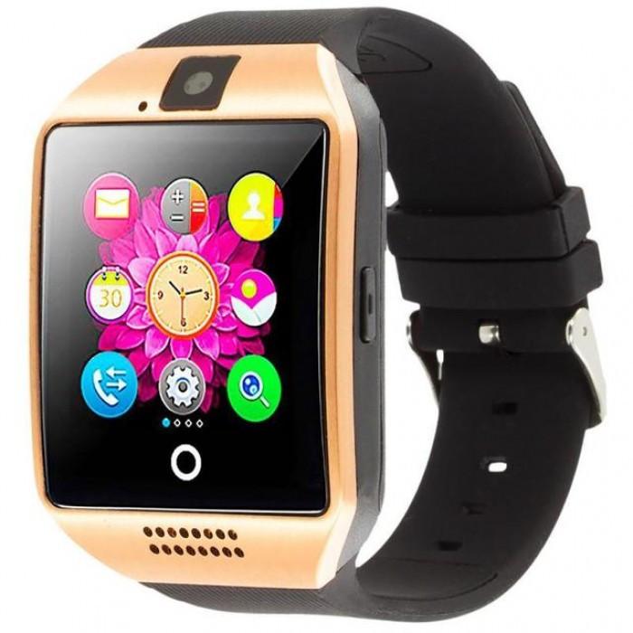 Умные смарт часы Smart Watch Phone Q18 Золотые