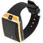 Умные смарт часы Smart Watch Phone Q18 Золотые, фото 2