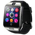 Умные смарт часы Smart Watch Phone Q18 Серые, фото 2