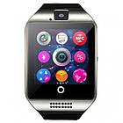 Умные смарт часы Smart Watch Phone Q18 Серые, фото 3