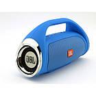 Портативная FM MP3 колонка JBL Boombox mini bluetooth microSD/TF и USB Синяя, фото 2