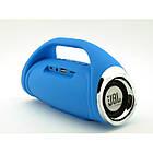 Портативная FM MP3 колонка JBL Boombox mini bluetooth microSD/TF и USB Синяя, фото 3