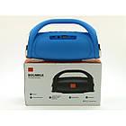 Портативная FM MP3 колонка JBL Boombox mini bluetooth microSD/TF и USB Синяя, фото 8