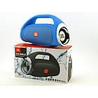 Портативная FM MP3 колонка JBL Boombox mini bluetooth microSD/TF и USB Синяя, фото 9