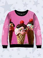 Світшот / Свитшот Ice cream Мороженое