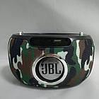 Портативная bluetooth колонка спикер JBL LINK 300 mini FM, MP3, радио Камуфляж, фото 4