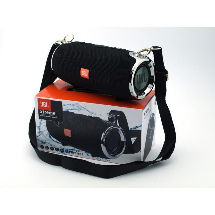 Портативная bluetooth колонка спикер JBL Xtreme mini FM, MP3, радио Чёрная