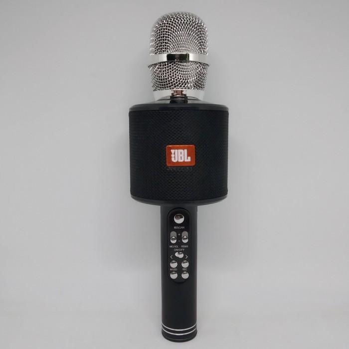 Беспроводной микрофон караоке блютуз K319 Bluetooth динамик USB Чёрный