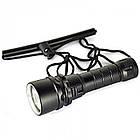 Подводный фонарь BL 8782 XPE T6 фонарик для дайвинга, фото 2