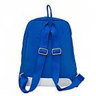 Дорожная сумка рюкзак City backpack Lacoste 3009 голубой, фото 4