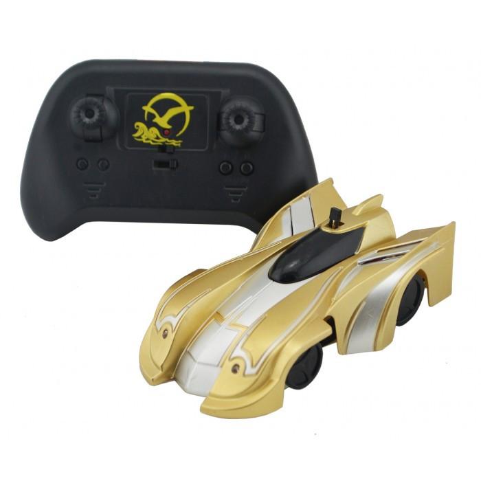 Радиоуправляемая игрушка CLIMBER WALL RACER Антигравитационная машинка Золото