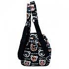 Рюкзак с рисунком Мишка 47250 Размер 30x25x12 Чёрный, фото 3