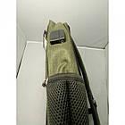 Городской рюкзак мужской ZXJ-2615 сумка 47x32x13 тёмно зелёный, фото 3