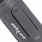 Портативная Bluetooth колонка Zealot S1 с функцией power bank и фонариком Чёрная, фото 2