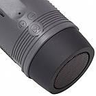 Портативная Bluetooth колонка Zealot S1 с функцией power bank и фонариком Чёрная, фото 3