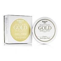 Гидрогелевые патчи Esedo Gold Collagen Eye Spot Patch с биозолотом и коллагеном