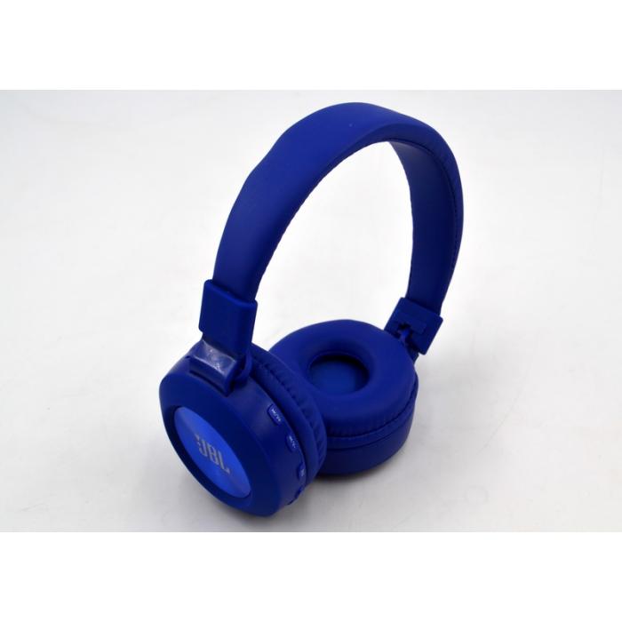 Bluetooth наушники Wireless Headphones JBL Purebass T200BTс FM MP3 Синие