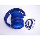 Bluetooth наушники Wireless Headphones JBL Purebass T200BTс FM MP3 Синие, фото 2