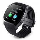 Сенсорные Smart Watch T8 смарт часы умные часы Чёрные, фото 2