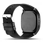 Сенсорные Smart Watch T8 смарт часы умные часы Чёрные, фото 4