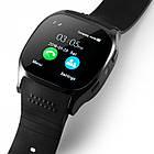 Сенсорные Smart Watch T8 смарт часы умные часы Чёрные, фото 5