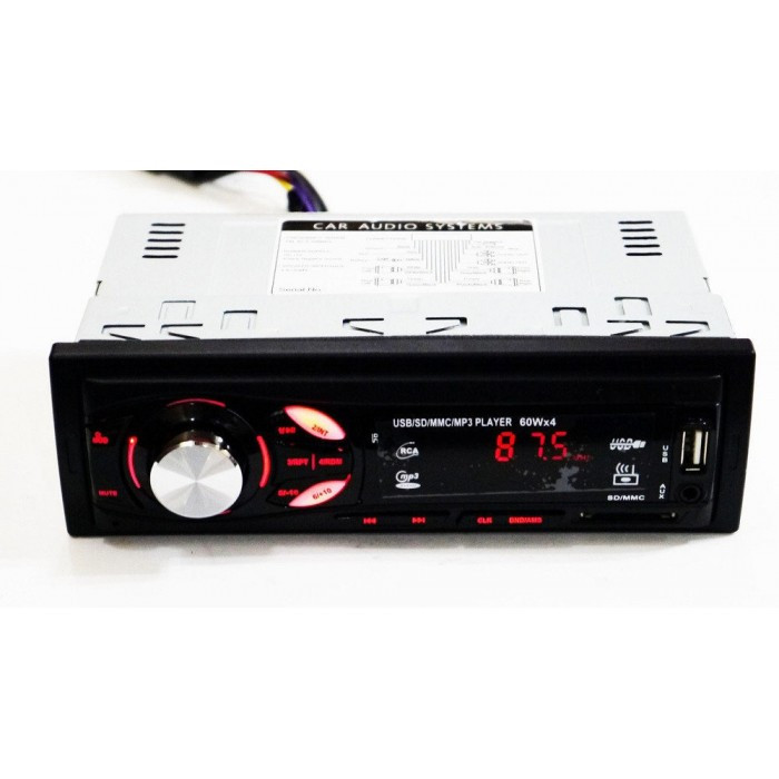 Магнитола MVH-4007U ISO - MP3 Player, FM, USB, SD, AUX