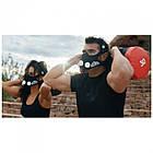 Маска для бега тренировок тренировочная дыхания спорта Elevation Training Mask M, фото 5