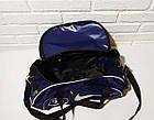 Спортивная сумка адидас, adidas для фитнеса с плечевым ремнем. Черная с розовым, фото 4