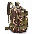 Тактический, походный рюкзак Military. 25 L. Камуфляжный, пиксель, милитари.  / T414, фото 5