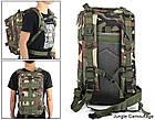 Тактический, походный рюкзак Military. 25 L. Камуфляжный, пиксель, милитари.  / T414, фото 6
