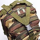 Тактический, походный рюкзак Military. 25 L. Камуфляжный, пиксель, милитари.  / T414, фото 8